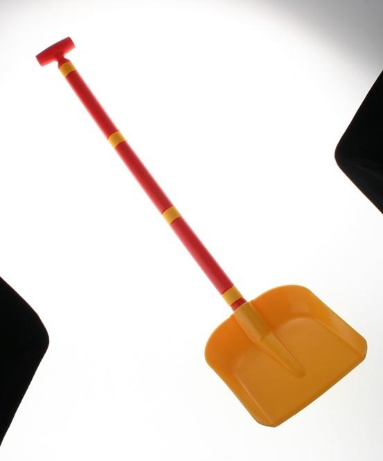Lopata plastová se skládací násadou