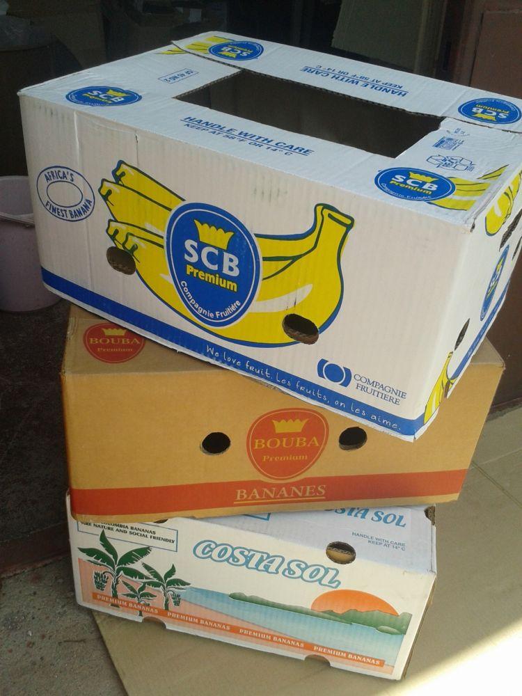 Banánové krabice